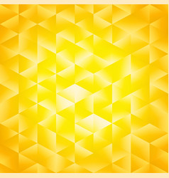 Yellow poligonal background vector