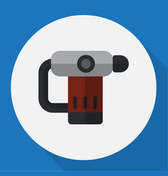 Of electric symbol on nailer vector