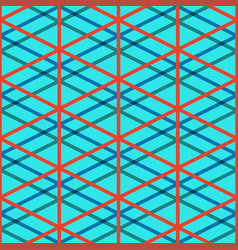 red seamless pattern vector image