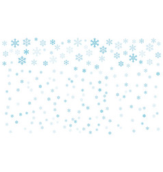 background with snowflakes eps-10 vector image
