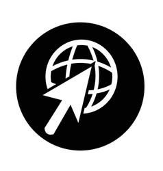 Go to icon vector