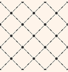 grid seamless pattern abstract geometric texture vector image
