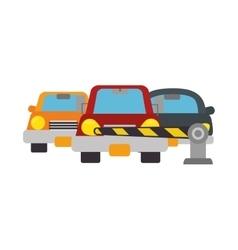 parking zone concept icon vector image