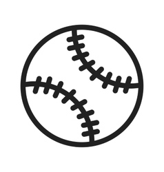 Soft Ball vector image