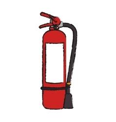 Extinguisher of industrial security design vector
