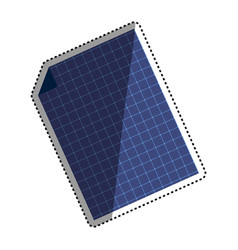 solar panel technology vector image vector image