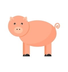 Pigs cartoon character vector image vector image