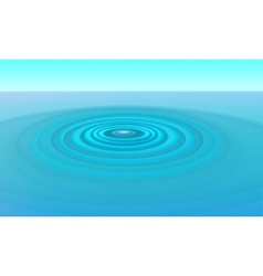 ripples in water vector image