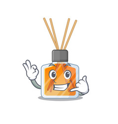 Call me funny air freshener sticks mascot picture vector