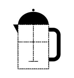 coffe time design vector image