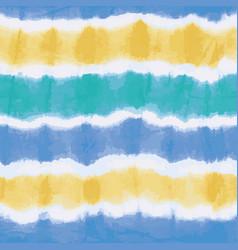 Colorful tie dye stripes seamless pattern vector