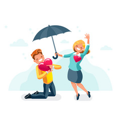 Dating abstract concept vector