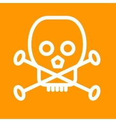 Death Sign vector image