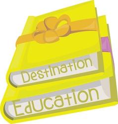 Destination Education vector