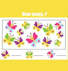 educational children game mathematics kids vector image