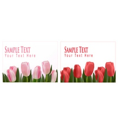 Flower design border vector