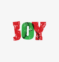 Joy concept stamped word art vector