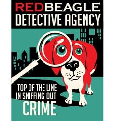Poster Beagle dog vector