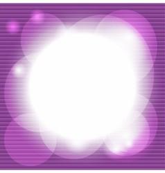 Purple striped decorative background vector
