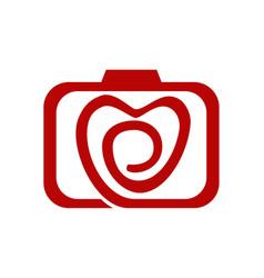 wedding photography service vector image