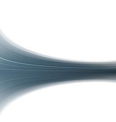 Abstract blue swoosh rapid wave folder vector image vector image