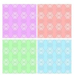 Patterns Set vector image vector image