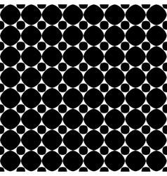 Polka dot geometric seamless pattern 608 vector image