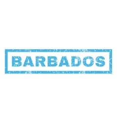 Barbados Rubber Stamp vector image