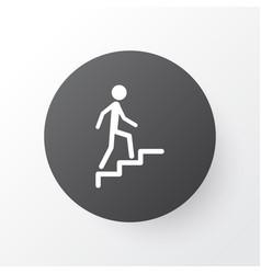 Climbing stairs icon symbol premium quality vector