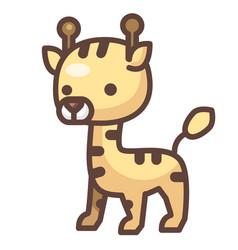 Giraff linecolor vector