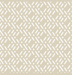 Golden geometric seamless pattern with lines vector