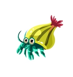 Hermit Crab vector