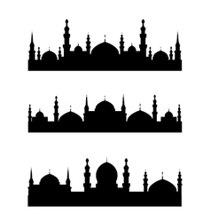 Islamic city vector
