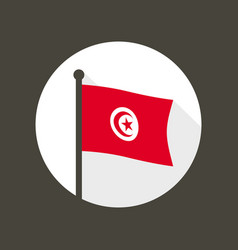 Vietnam national flag flat icon vector