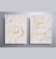 wedding invitation pattern with waves and swirl vector image