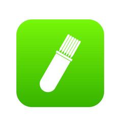 Welding rods icon digital green vector