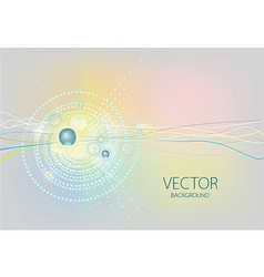 Colorful lines graphic wallpaper vector image