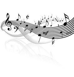 music border vector image vector image