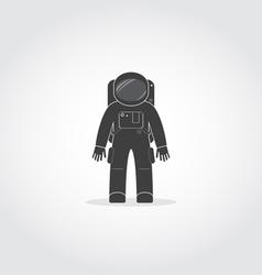 Astronaut Black Icon vector image