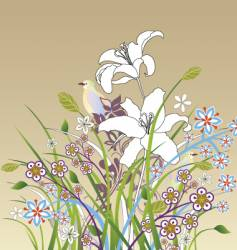 artistic nature vector image