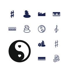 Harmony icons vector