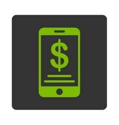Mobile Wallet Icon vector image