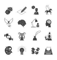 Muse Icon Set vector