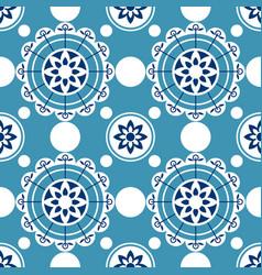 portugal seamless pattern vintage mediterranean vector image