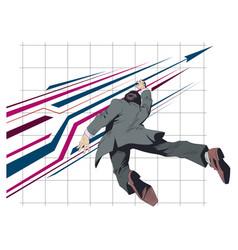 progress and success stock vector image