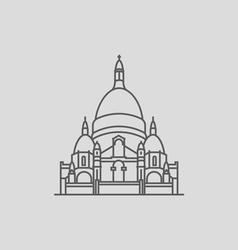 Sacre Coeur vector image