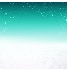 Snow environment vector