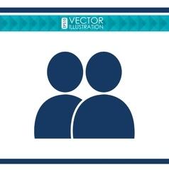 Social media icon design vector