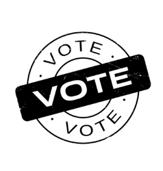Vote rubber stamp vector