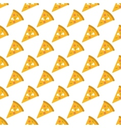 Pizza pattern seamless vector image vector image